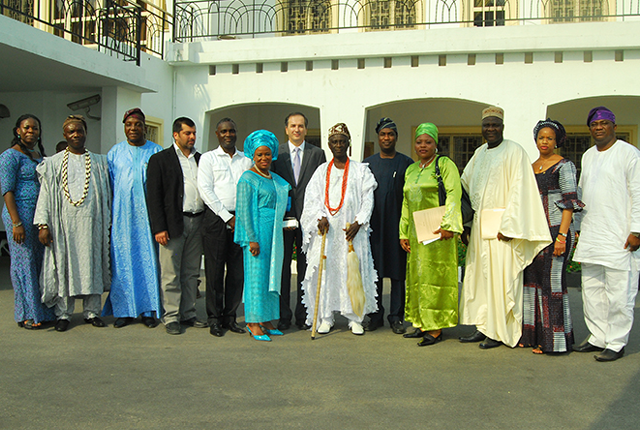 MIDOIL & COMMUNITIES JOINT OFFICIALS VISIT TO STATE HOUSE MARINA